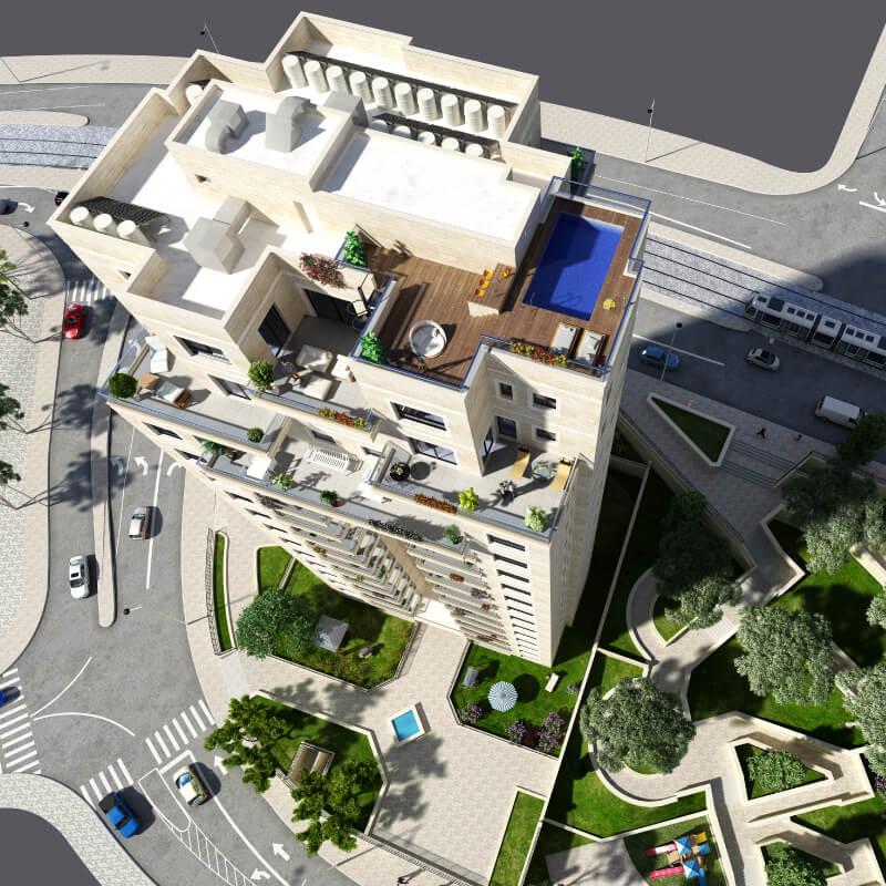 התחדשות עירונית לפרוייקטים שלנו